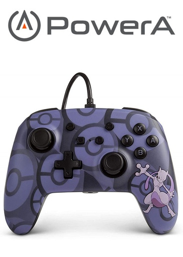 [676012] PowerA NS Enhanced Wired Controller - Mewtwo