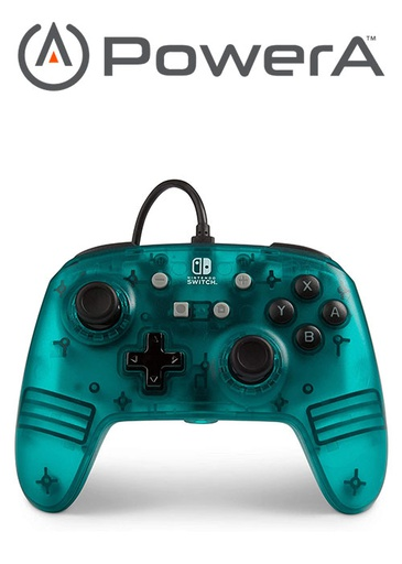 [676017] PowerA NS Enhanced Wired Controller - Blue Frost