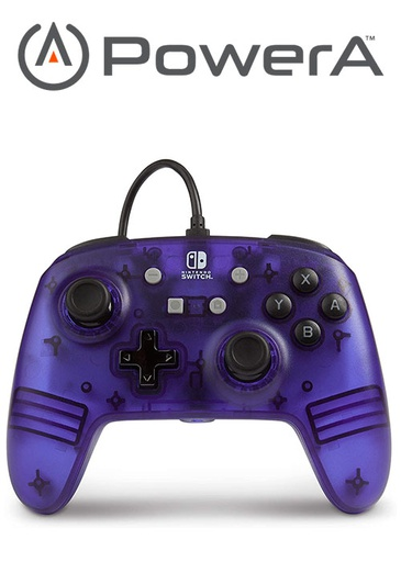 [676018] PowerA NS Enhanced Wired Controller - Purple Frost