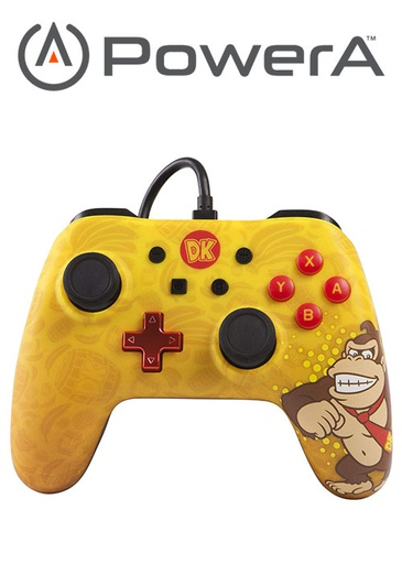 [676035] PowerA NS Wired Controller - Donkey Kong