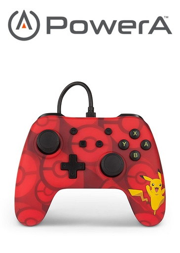 [676036] PowerA NS Wired Switch Controller - Pikachu
