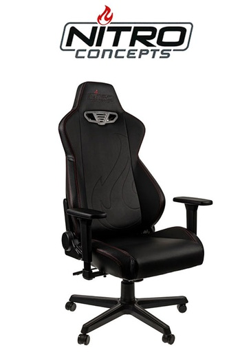 [676214] Nitro Concepts S300 EX - Carbon Black Gaming chair