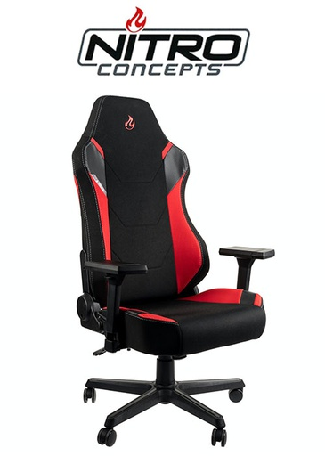 [676216] Nitro Concepts X1000 - Black/Red Gaming chair