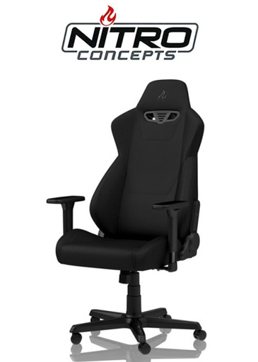 [676230] Nitro Concepts S300 - Stealth Black Gaming chair