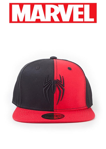 [676243] Spider-Man - 3D Embroidery Logo Snapback Cap