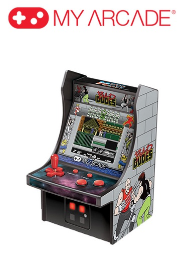 [676288] My Arcade BAD DUDES MICRO PLAYER