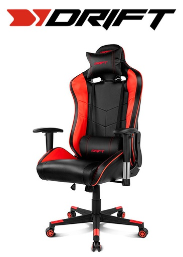 [676429] Drift Gaming Chair DR85 - Black/Red