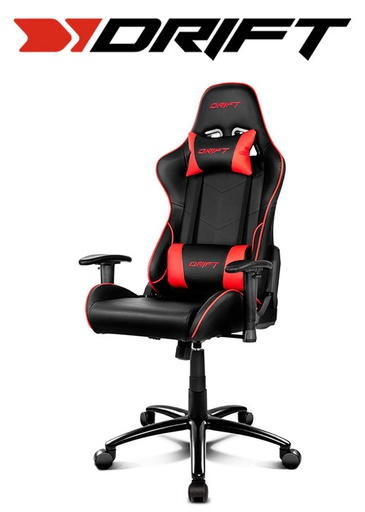 [676432] Drift Gaming Chair DR125 - Black/Red