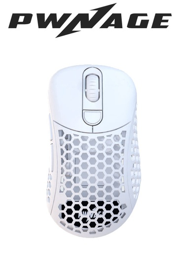 [676476] Pwnage Ultra Custom Gaming Mouse - White