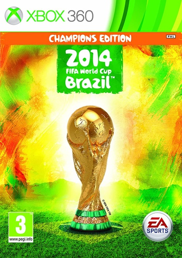 [676541] XBOX360 2014 FiFa world cup Brazil Champions Edition PAL