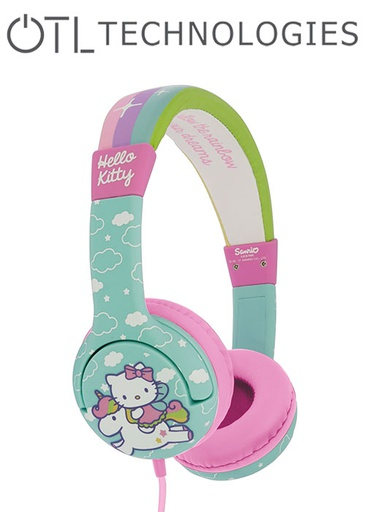 [676588] OTL Hello Kitty Unicorn Junior Headphones