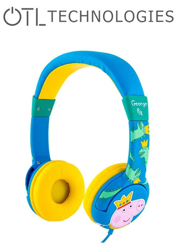[676589] OTL Peppa Pig Prince George Headphones
