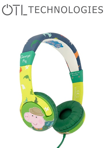 [676590] OTL Peppa Pig George Dino Headphones