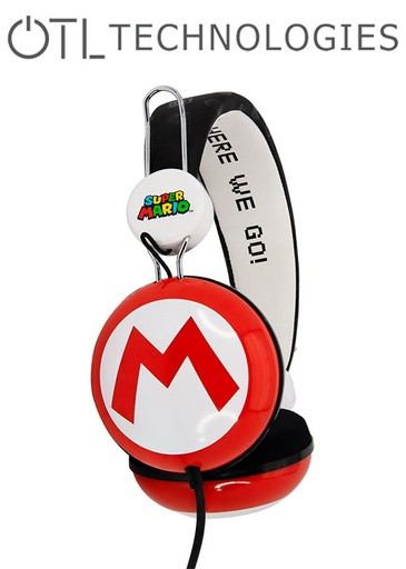 [676594] OTL Super Mario Icon Dome Tween Headphones