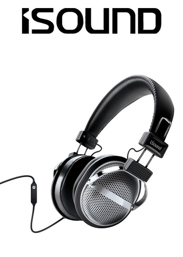 [676629] ISOUND HM-270 HEADPHONE - BLACK/SILVER