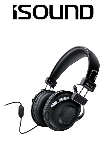 [676633] ISOUND HM-260 HEADPHONE - BLACK