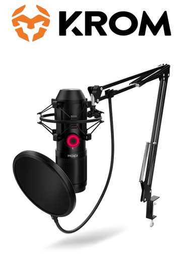 [676729] KROM KAPSULE HQ Streaming Microphone Kit