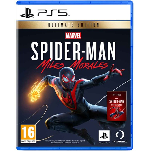 [S676887] PS5 Spiderman Miles Morales Ultimate Edition R2