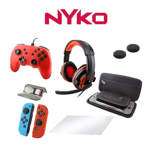 [676901] Nyko Master Pack for Nintendo Switch