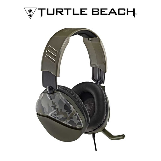 [676912] Turtle Beach Recon 70 Gaming Headset – Green Camo
