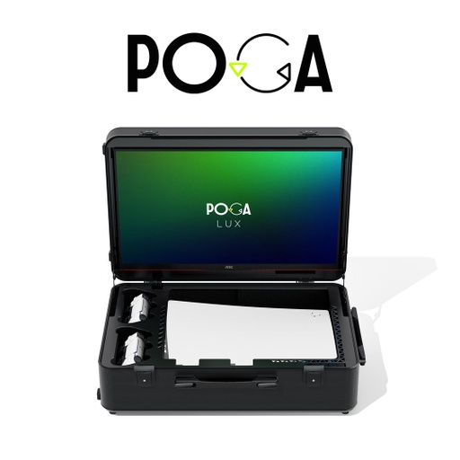 [677018] INDIGAMING POGA LUX Black For PS5