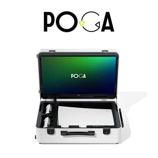 [677019] INDIGAMING POGA LUX White For PS5