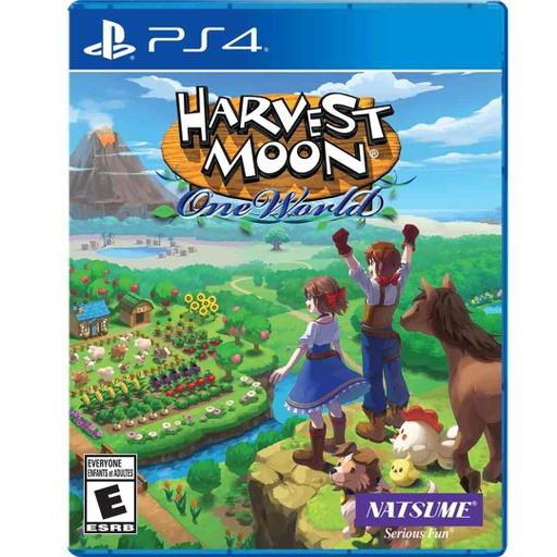 [677147] PS4 Harvest Moon: One World R1