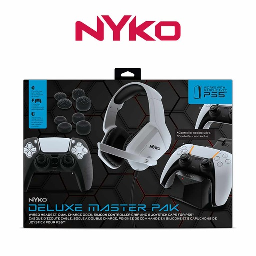 [677185] Nyko Deluxe Master Pack for PS5
