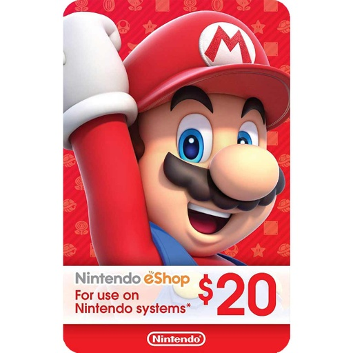 [677241] Nintendo eShop: 20$ - USA Account [Digital Code]