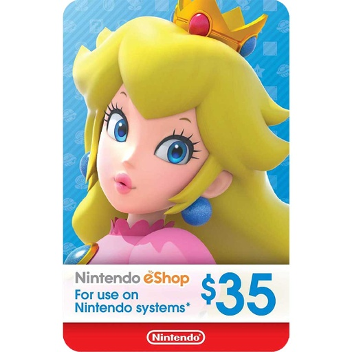 [677242] Nintendo eShop: 35$ - USA Account [Digital Code]