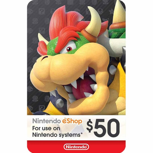 [677243] Nintendo eShop: 50$ - USA Account [Digital Code]